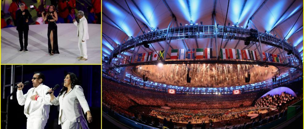 Rio 2016: la cerimonia d'apertura all'insegna della musica
