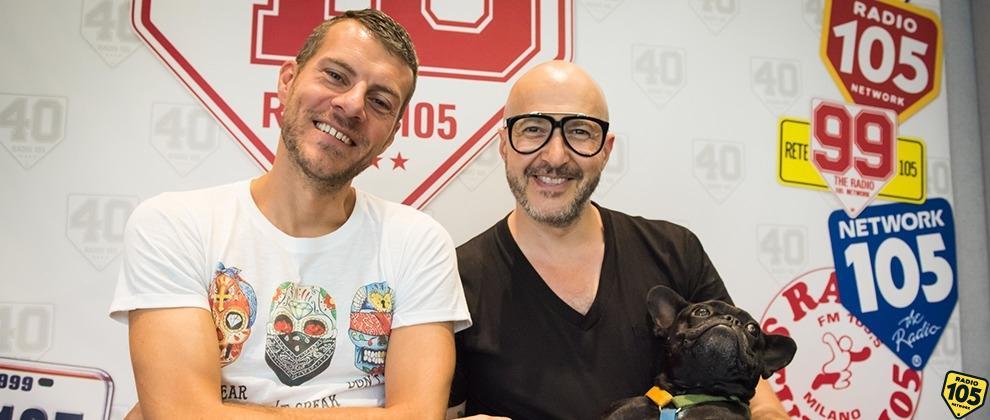 Saturnino (e la sua Oliva) in diretta con Max Brigante, le foto