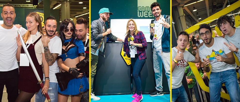 Radio 105 alla Milan Games Week 2016, le foto!