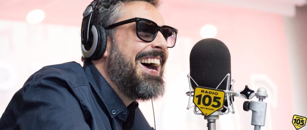 Brunori Sas a 105 Friends: guarda le foto dell'intervista