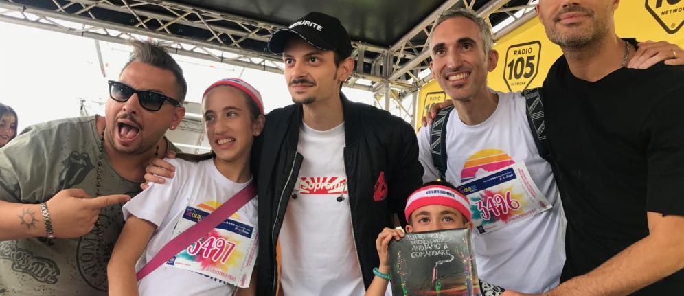 La The Color Run chiude con la tappa di Torino: Radio 105 c'era!