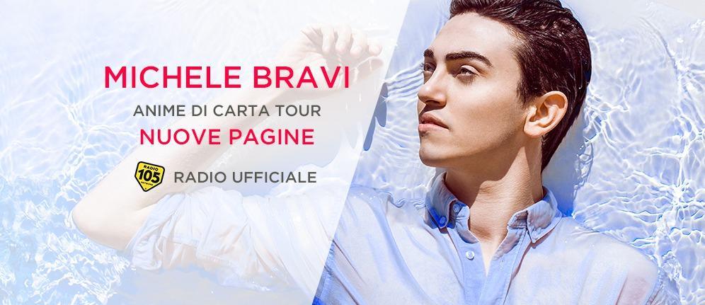 Radio 105 in tour con Michele Bravi