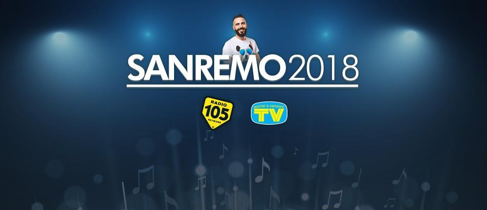 Sanremo 2018: i big in gara intervistati da Radio 105
