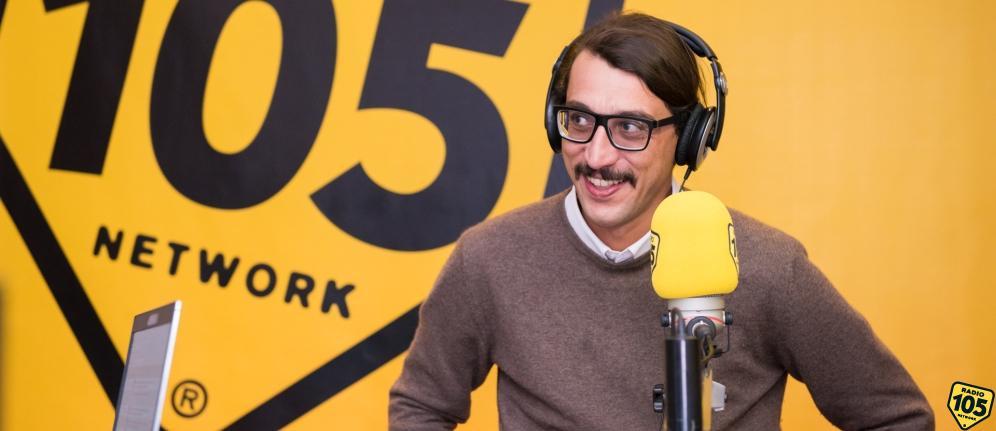 Corrado Fortuna a 105 Mi Casa: le foto