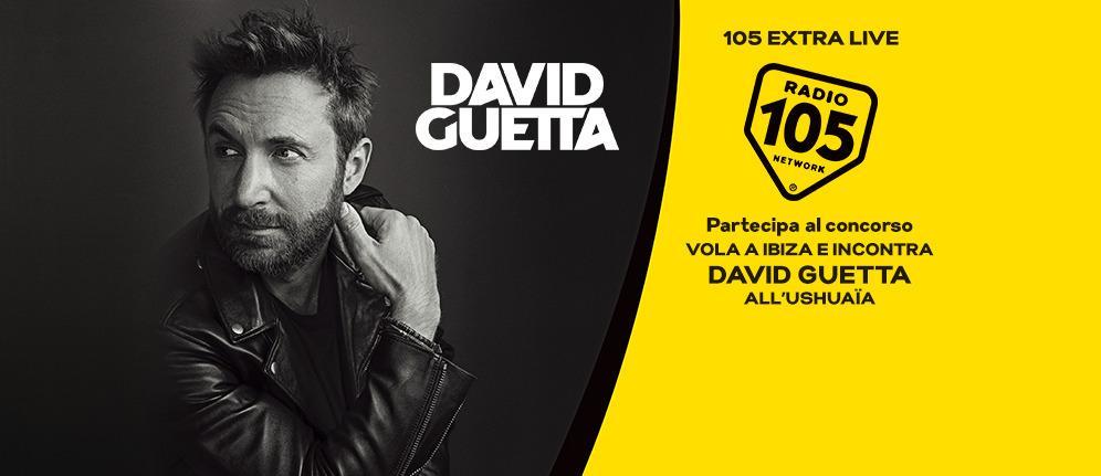 Con 105 Extra Live! potresti incontrare David Guetta dal vivo: partecipa al nostro concorso