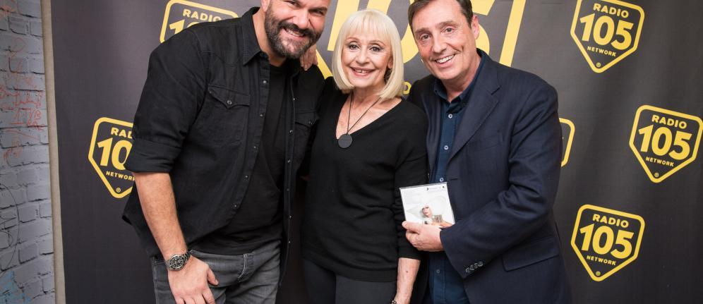 Raffaella Carrà, le foto dell'intervista a 105 Friends