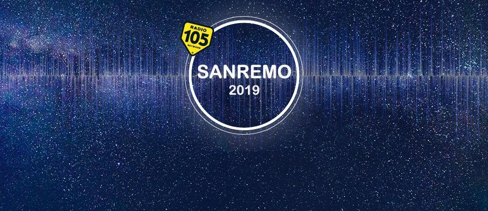 Segui Sanremo 2019 con Radio 105 e i suoi contenuti esclusivi