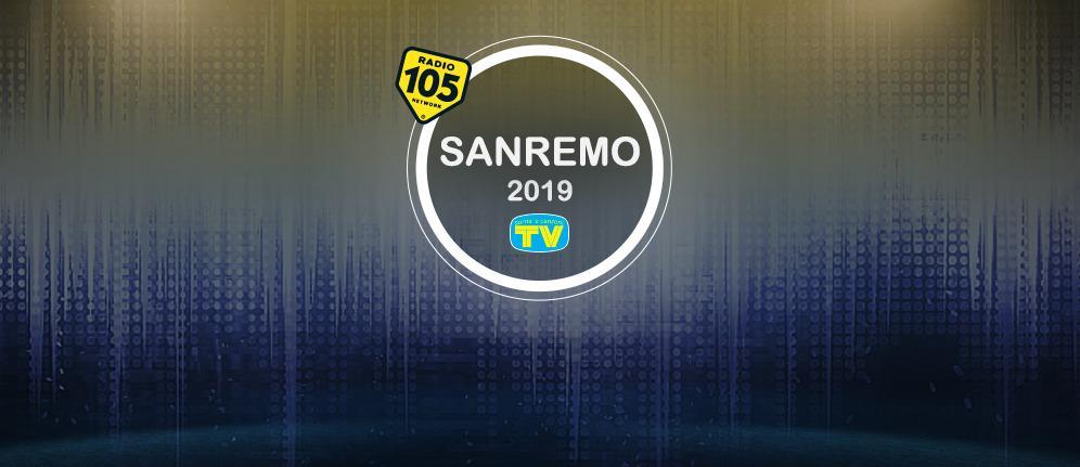 Vivi Sanremo 2019 con le interviste di Radio 105