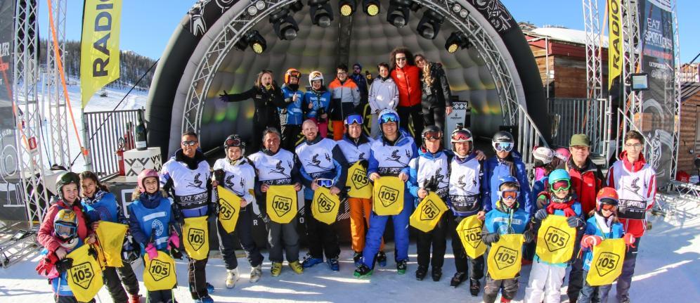 EA Sportour Winter Edition, le foto della tappa di Sestriere
