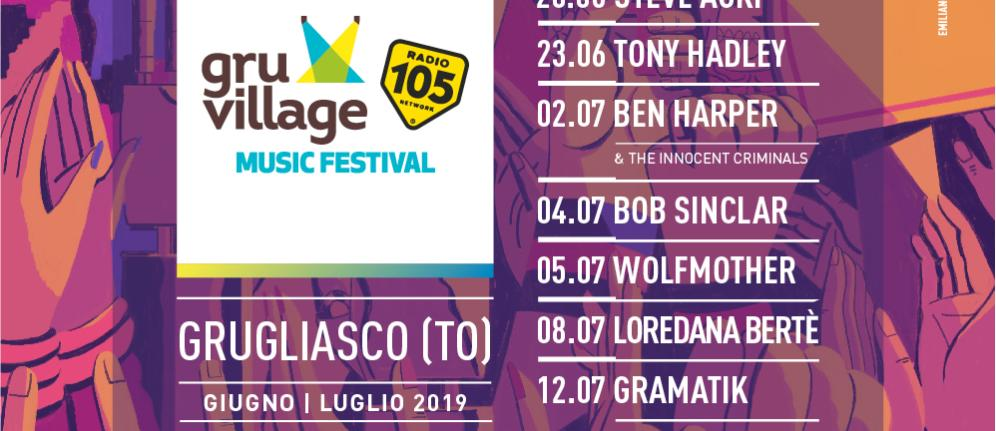 GruVillage 105 Music Festival: Loredana Bertè si aggiunge alla line up