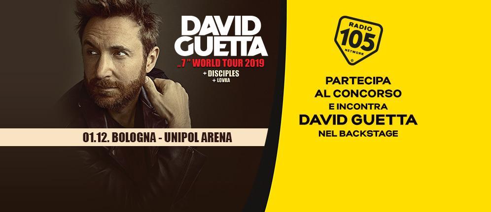 Partecipa al concorso e incontra David Guetta nel backstage!