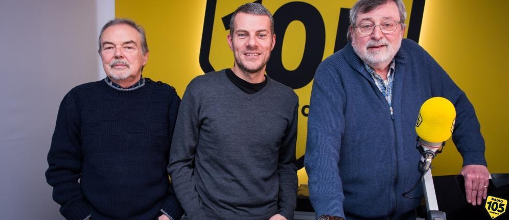 Francesco Guccini e Mauro Pagani a 105 Mi Casa: le foto dell'intervista