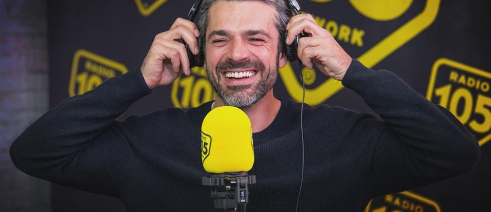 L'anteprima di Luca Argentero a 105 Friends