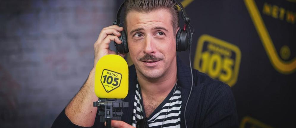 L'anteprima di Francesco Gabbani a 105 Friends!