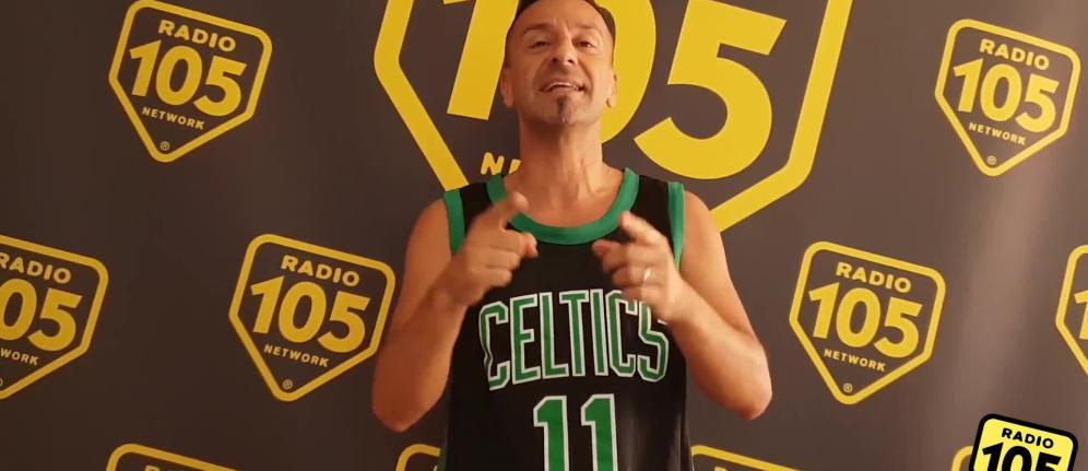 """Pippo Palmieri lancia la """"105 NBA Challenge"""": """"Fai canestro da metà campo e vieni all'NBA Fan Zone"""""""