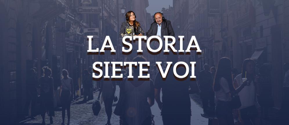 """""""La Storia Siete Voi"""", il nuovo appuntamento all'interno del Radio Costanzo Show!"""