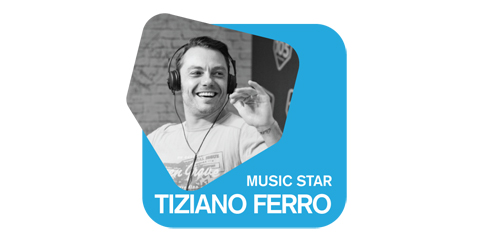 Ascolta MUSIC STAR Tiziano Ferro su Radio 105
