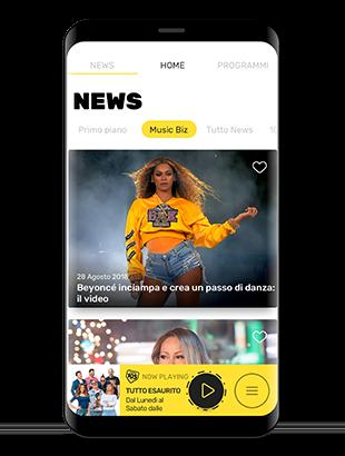 Scarica subito la nuova applicazione di Radio 105 per Android