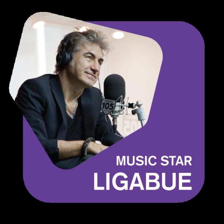Ascolta 105 Music Star Ligabue la web radio che trasmette 24 ore su 24 i capolavori del rocker di Correggio