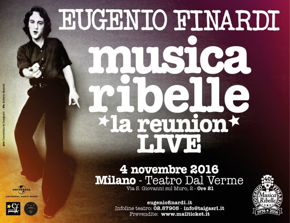 Eugenio Finardi racconta 40 anni della sua musica ribelle